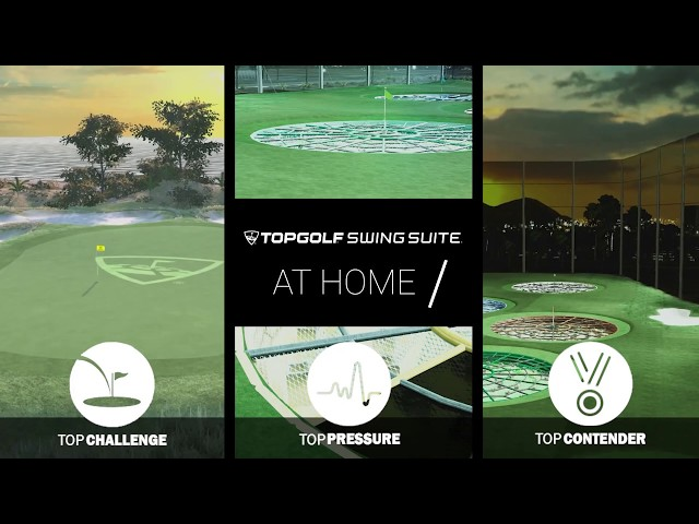 Play TOPGOLF at Home on Your Full Swing Simulator