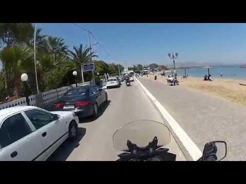 Busy Saturday in Nea Makri, Greece