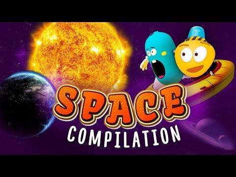 Solar System for Kids | Solar Eclipce | Day and Night Explanation | Astronomy Сartoon for Kids