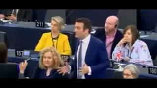 Macron contre Philippot : clash en direct au parlement de Strasbourg