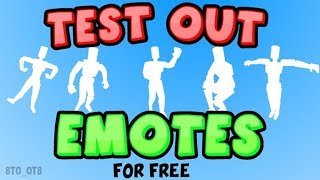 ROBLOX Gameplay 🔥TestenSie EMOTES🏃 ♂️FREE🤩