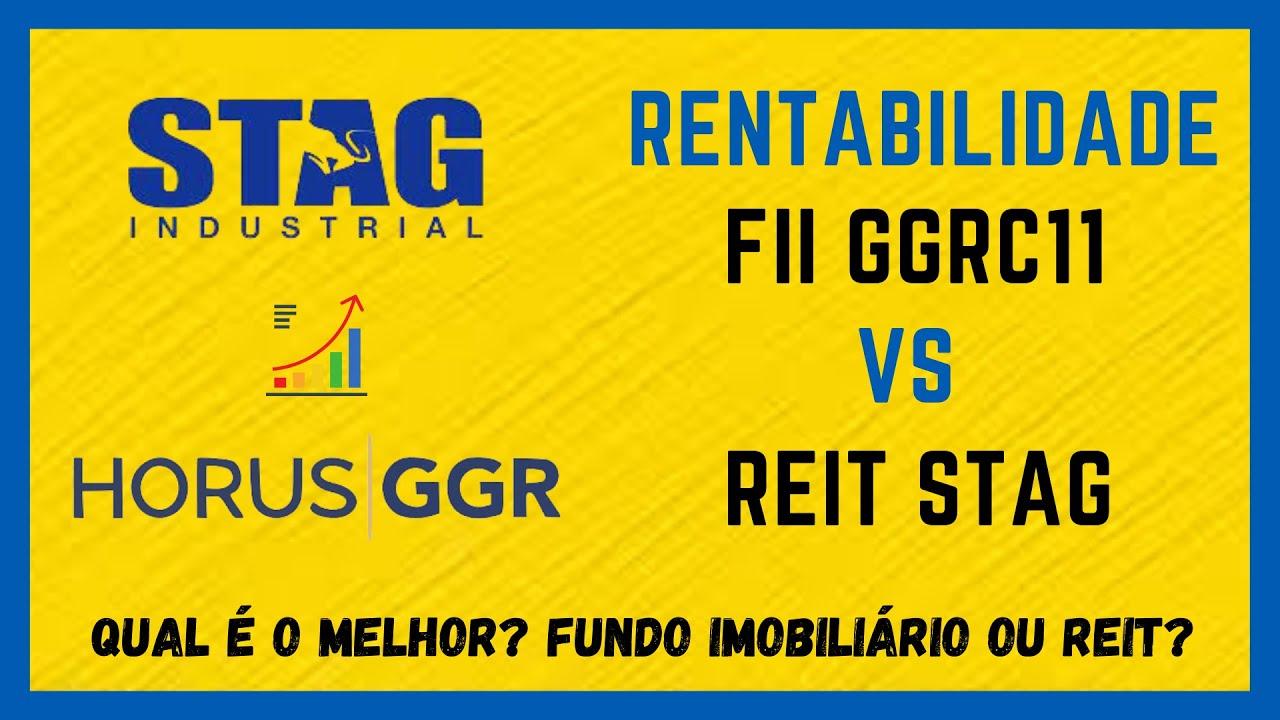 FIIs vs REITs - GGRC11 X STAG - Qual é melhor investimento para dividendos mensais?
