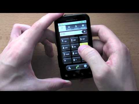 Videopohled - Motorola Defy (Android 2.2 Froyo)