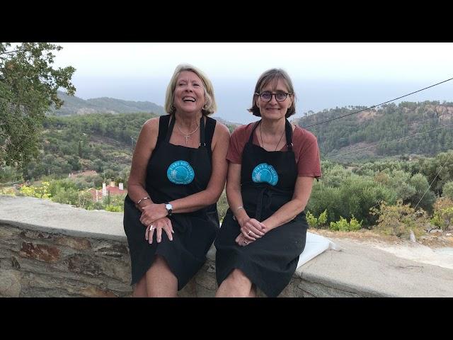 Ikaria Cooking School Testimonial from Becky, September 2021