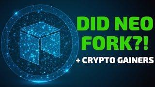 Did NEO Fork?! Plus VeChain, NANO, Cortex - Today's Crypto News