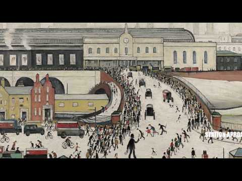 A short film on L.S. Lowry - Then and Now