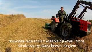 Ciągnik ogrodniczy AGT 830