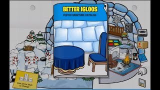 February 2018 Furniture Catalog Secrets! Club Penguin Rewritten