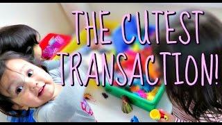 THE CUTEST TRANSACTION! - May 25, 2016 -  ItsJudysLife Vlogs