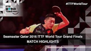2016 World Tour Grand Finals Highlights: Xu Xin vs Chen Chien-An (R16)