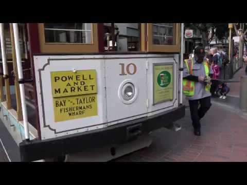 San Francisco CA Cable Car Rides  Submarine Tour City Walk with Paul Ranky 4K