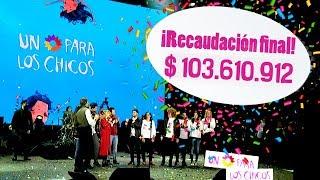 ¡Récord solidario! Recaudamos más de 100 millones para Unicef