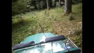 Alpago raid. Passaggio tecnico nella foresta. 03.07.2012