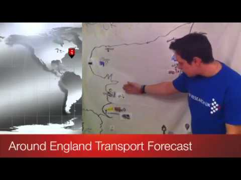 Around England Transport Forecast