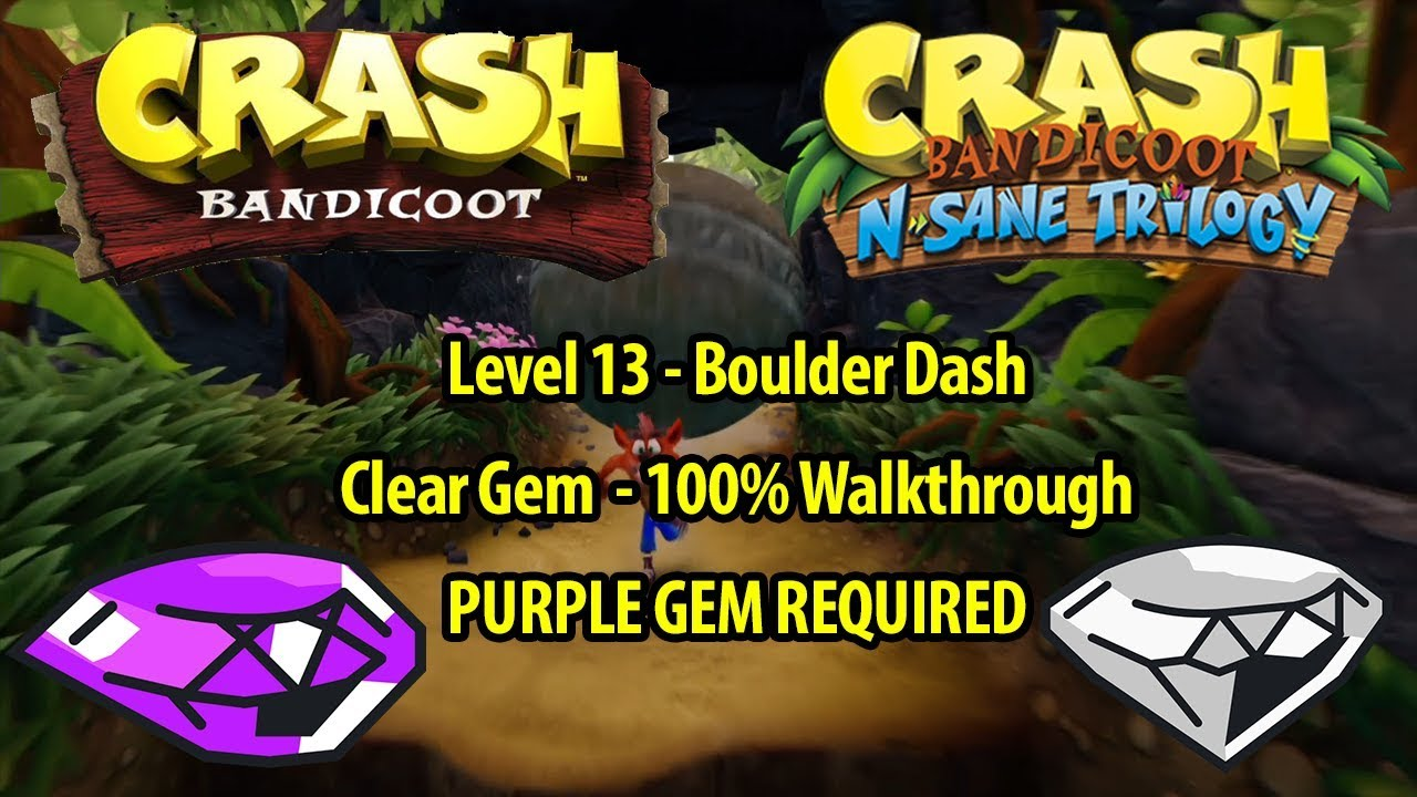 how to get purple gem crash bandicoot 3