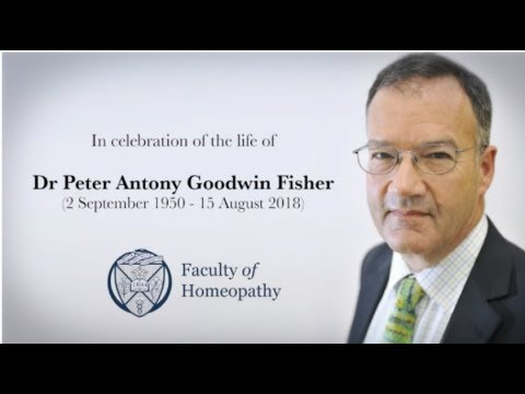 A Memorial Tribute To Dr Peter Fisher, Past President Of The Faculty Of Homeopathy