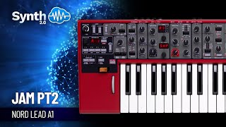 Clavia Nord Lead a1 Synth jamming on presets part 1 ( Synthcloud )