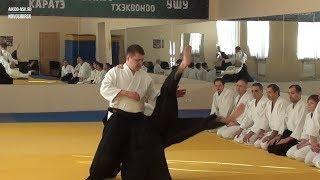 Укеми - страховки в Айкидо (упражнения)
