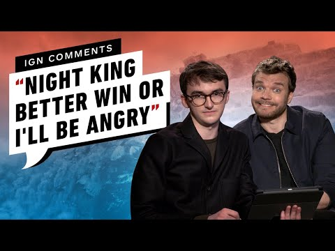 Game of Thrones&39; Cast Responds to IGN Comments Part 2