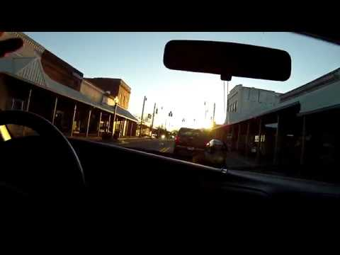 Driving Thru Hartselle Alabama