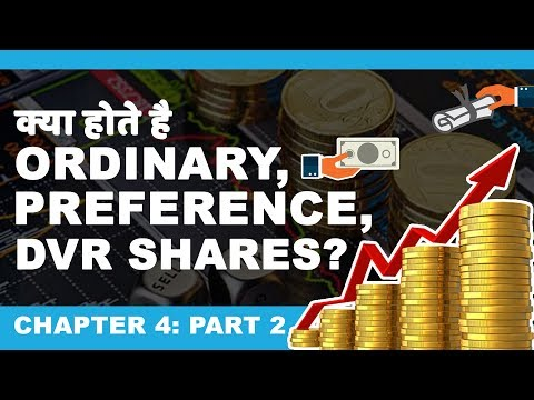 Types of Shares in Indian stock market (Hindi)