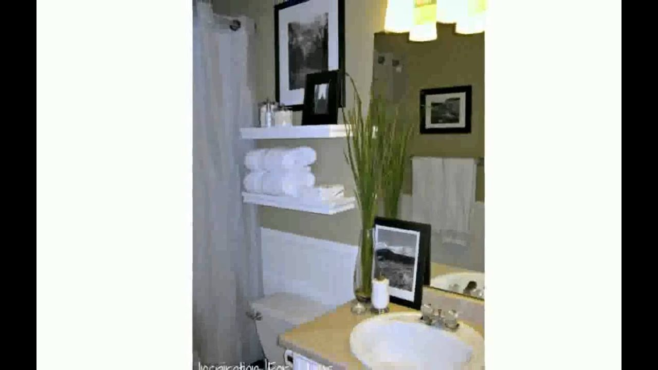 Decorate My Bathroom bathroom towel decorating ideas - youtube