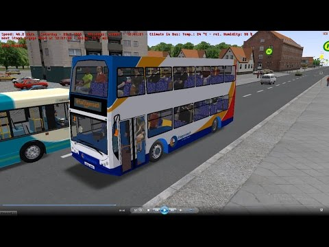 Omsi 2 tour (685) NewCastle bus 684 City Centre - Ovington @ Volvo B9TL East Lance