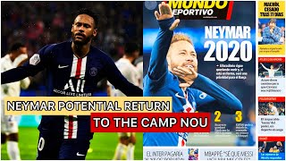 Neymar potential return to fc barcelona | worth 180 million according fifa who will he replace?