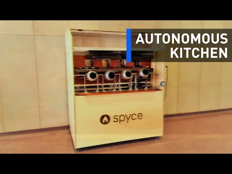 An Autonomous Kitchen That Will Cook, Serve, And Clean For You