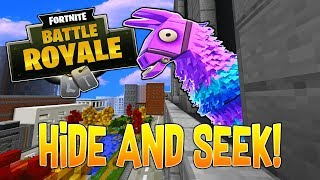 Minecraft Fortnite HIDE AND SEEK! With PrestonPlayz, Doni, Bionic!