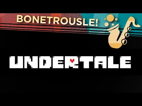 """Bonetrousle (From """"Undertale"""") Saxophone and Piccolo Video Game Cover/Remix"""