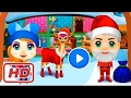 [ Game for Kids ] Sweet Little Dwarfs Christmas, Santa & Makeup - GamePlay By TutoTOONS Full Unlock