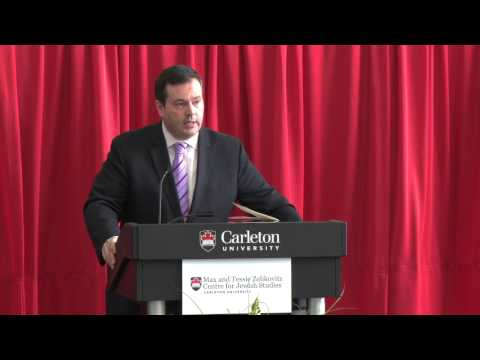 Zelikovitz Centre hosts Holocaust Conference: Honourable Jason Kenney