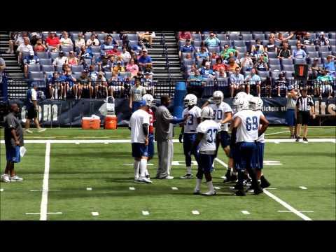 Colts 2012 mini camp