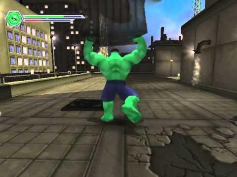 The Incredible Hulk PC Game