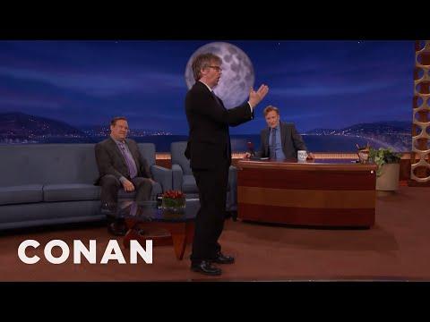 Dana Carvey Overheard Keith Richards Talking To A Horse  - CONAN on TBS