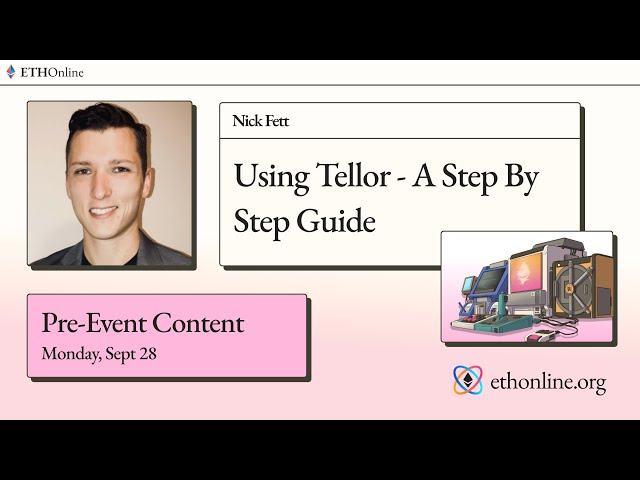 ETHOnline 🛠️ Using Tellor - A Step By Step Guide