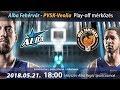 Alba Fehérvár - PVSK-Veolia playoff mérkőzés