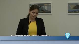 Fundur Bæjarstjórnar 20. mars 2018