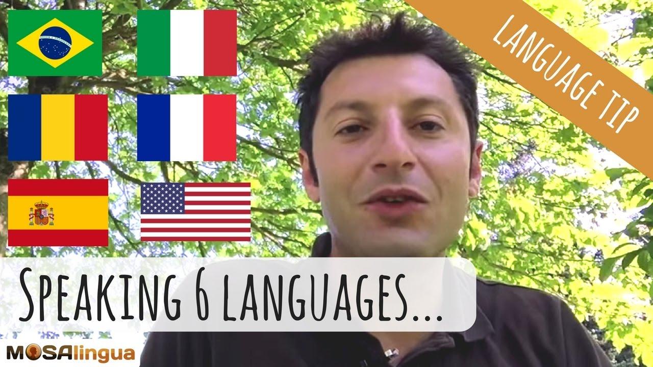 Translations Into Italian: Italian Polyglot Speaking 6 Languages (with SUBTITLES