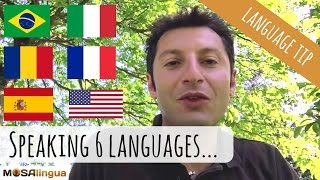 Italian polyglot speaking 6 languages (with SUBTITLES)