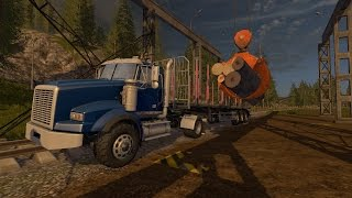 Farming Simulator 17- Logging Company- Ep. 2