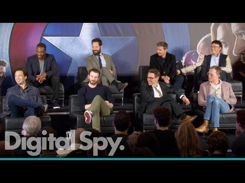 Captain America: Civil War - European Press Conference in Full