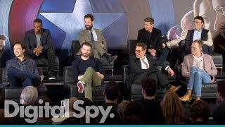 Captain America: Civil War  European Press Conference in Full