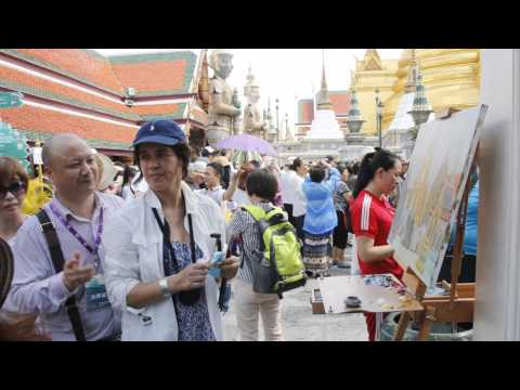 Russian artists in Thailand