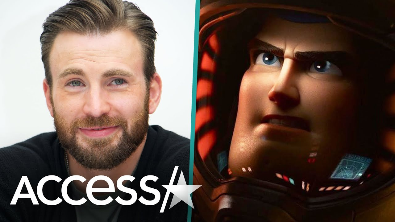 Chris Evans Gushes Over Voicing Buzz Lightyear In New Film