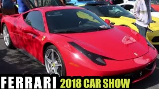 Lamborghini & Ferrari [CAR SHOW BURNOUTS] 2018 Centenario