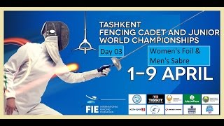 Cadets Fencing World Championships 2015 Day03 - Finals