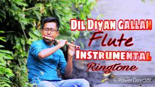 Dil Diyan Gallan - New Bollywood flute instrumental song ringtone - Film - ( Tiger zinda hai )