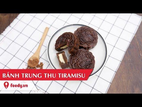Hướng dẫn cách làm bánh trung thu tiramisu cực lạ - Tiramisu Mooncake